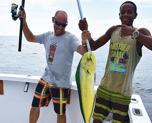 fish mahi trip curacao
