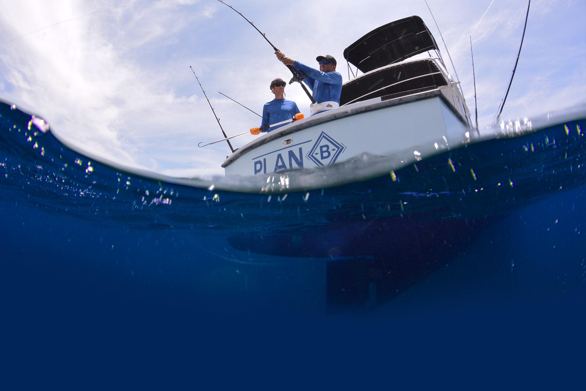 fish charter curacao plan b